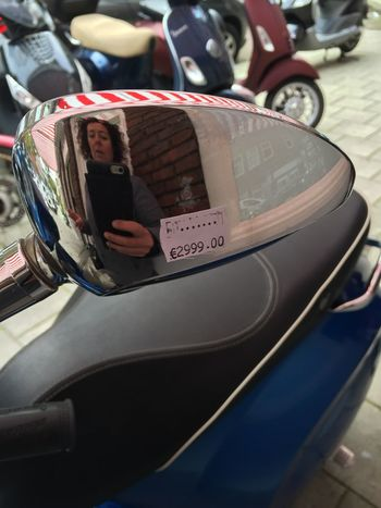 What Did You Do Last Saterday... Selfportrait in a Vespa Mirror Coolstuff That's Me Enjoying Life Taking Photos