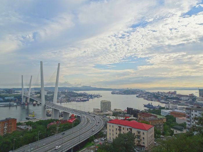 Vladivostok view⚓⚓ From Above  TOWNSCAPE Viaje Journeyphotography Travel Beautiful View View From Above Viewpoint Harbor Ocean View Seascape Seaside What I Saw Thisismyworld No Edit/no Filter Nofilter EyeEm Selects City Cityscape Urban Skyline Skyscraper Business Finance And Industry Road High Angle View Aerial View City Life Overpass Traffic Jam Traffic