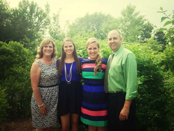 Nick and Reba's wedding