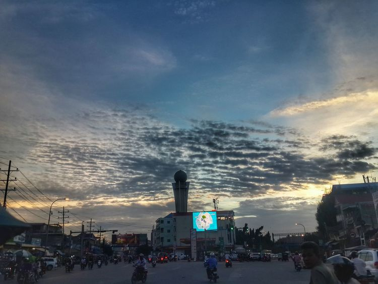 Chba ampov, Phnom Pehn, Cambodia Cloud And Sky