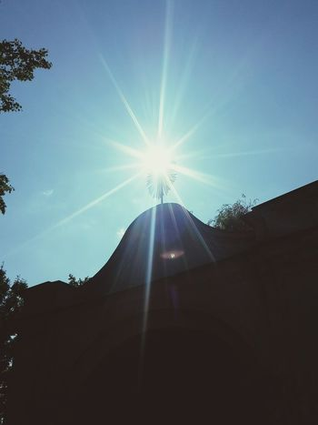 Sunbeam No People Travel Destinations Low Angle View Outdoors Sky Nature Architecture Built Structure Day Nature Eye4photography  Church Košice