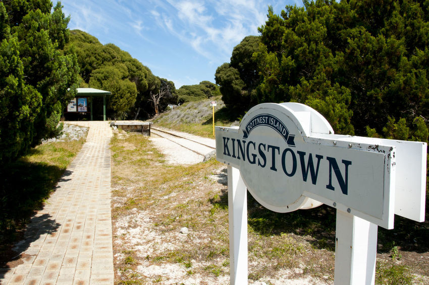 Historic Kingstown Railway - Rottnest Island Australia Kingstown Rottnest Island Rail Railway
