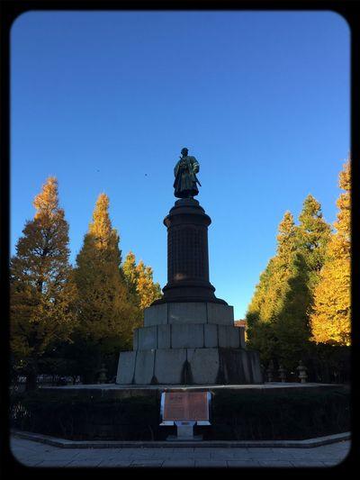 靖国神社 靖国神社 Sky Yellow Autumn