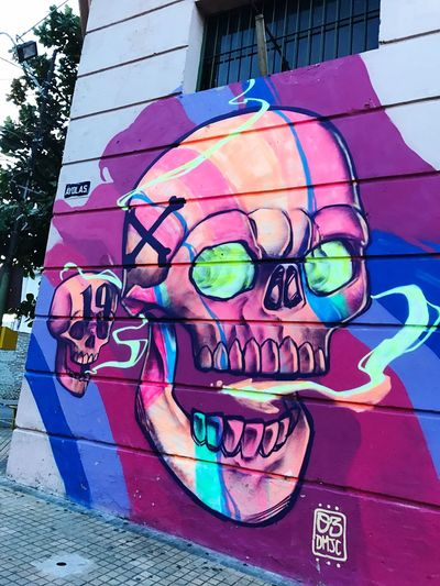 Street Art 🌽 Art And Craft Graffiti Multi Colored Street Art Built Structure Outdoors Day Architecture Building Exterior No People Close-up