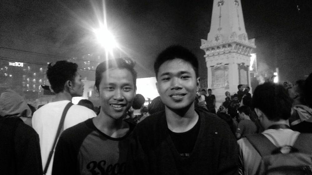 Wonderful Yogyakarta , Happy New Year Tugu Yogyakarta