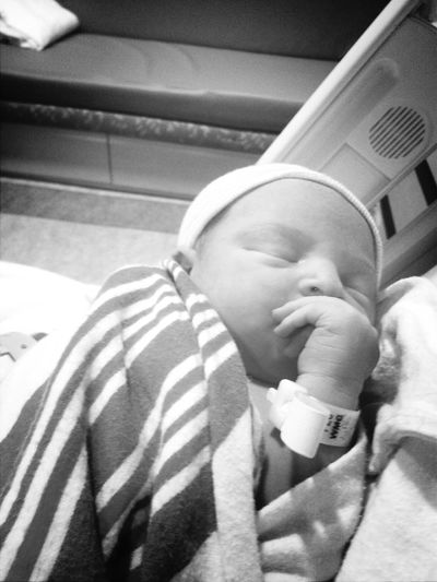 Bryant Daniel Morris; July 29, 7lbs and 5oz
