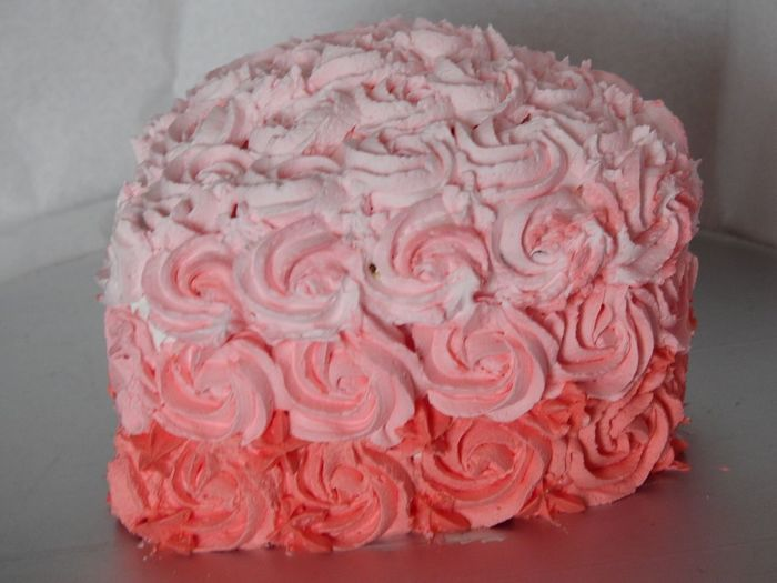 Delicious Special Day Celebration Cake Flower Rose - Flower Freshness Sweet Food Petal Indoors  Food Dessert No People Pink Color
