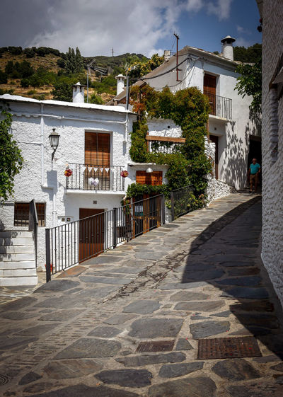 Capileira Granada, Spain EyeEm Selects Arquitecturas #ignafotos House Sky Architecture Building Exterior Built Structure Cloud - Sky Holiday Villa