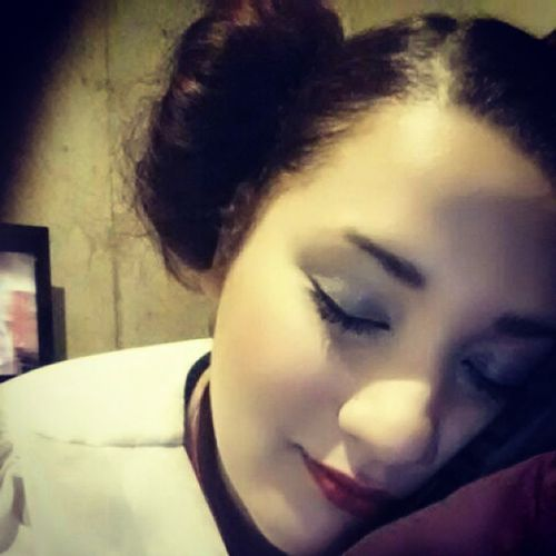 Long day at work, finally resting. Starwars Hairbuns WorkLife Valuevillage halloweenideas halloween princessleia costumeconsultant