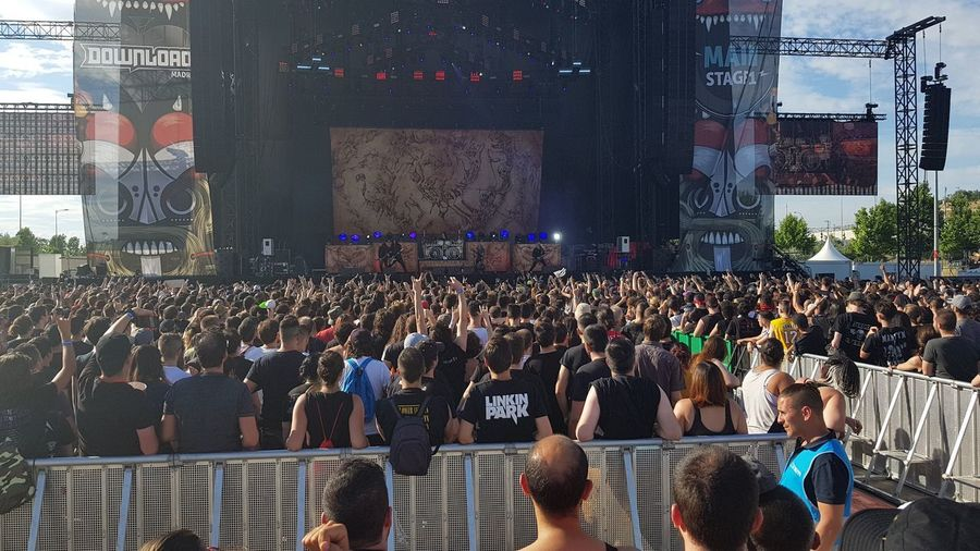 Death Metal Heavy Metal Arch Enemy Crowd Group Of People Large Group Of People Real People Enjoyment Arts Culture And Entertainment Architecture Stage - Performance Space Event Stage Performance Built Structure Men Music Fun Women Celebration Lifestyles Popular Music Concert