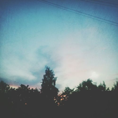 Sky Evening Home
