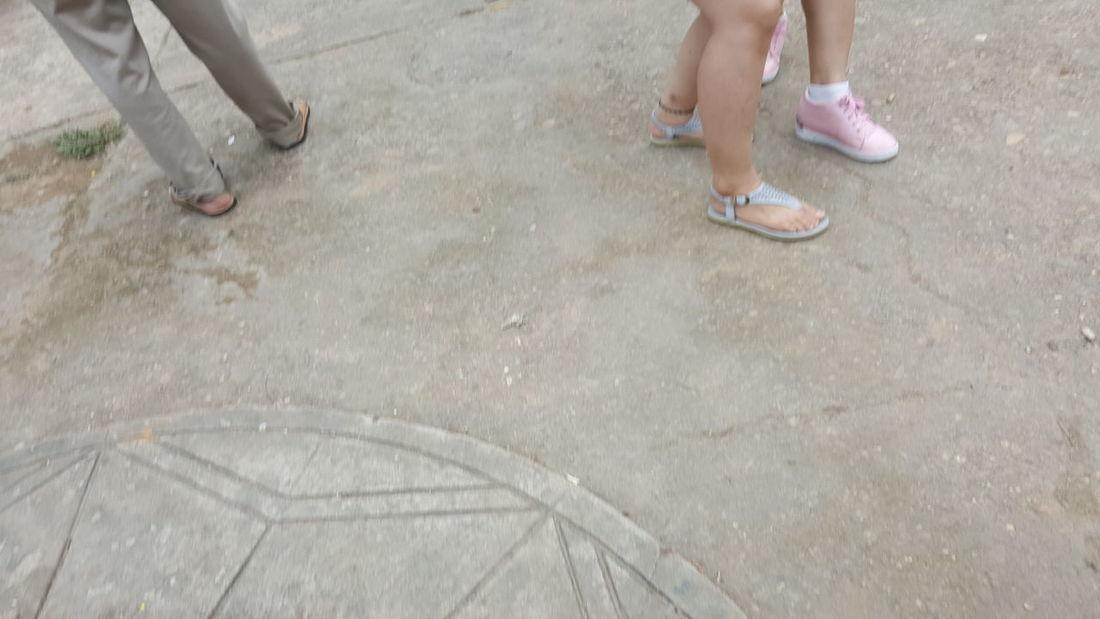 Pink shoes. Shoe Outdoors Feet Vietnam Đà Nẵng Street Girls Children Pink