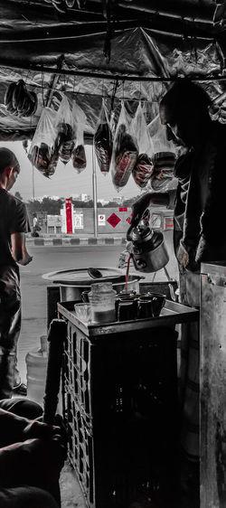 Morning Road Road Side View Road Side Vendor Road Side Photography Roadside Shots Tea Breakfast Streetphoto_bw Streetshop EyeEmNewHere Close-up Prepared Food