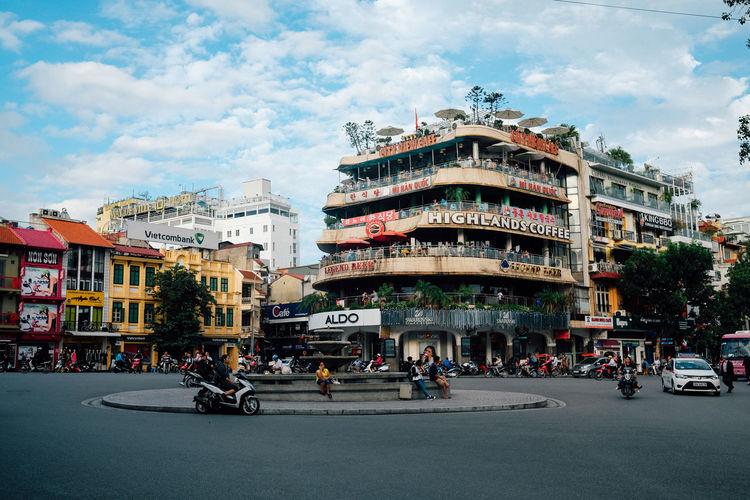 Beautiful Hanoi City Life Hanoi Hanoi Vietnam  Hoang Ann MuiTau On The Road Road Street Traveling