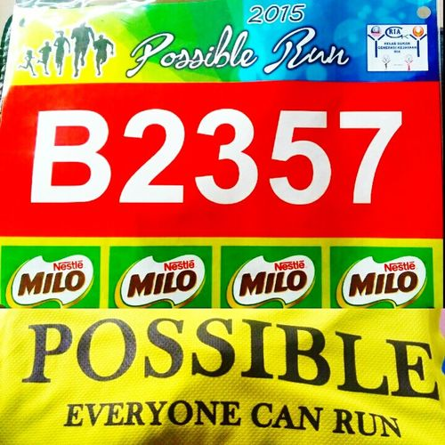 Yeaaah !! My Next Run ... Possible Run 2015 Possible Everyone can run 😘😘 My Hobby