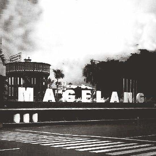 Magelang #indonesia Trip Photo Black And White Twilight Military Base
