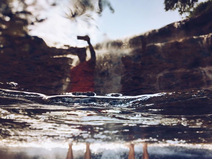 People And Places Close-up Tree Selective Focus Focus On Foreground Water Nature Surface Level Flowing Rocky Tranquil Scene Weathered No People Tranquility Solitude Non-urban Scene IMography ShotOniPhone6 Shot On IPhone IPhoneography IPhone Photographer Iphonephotography Mobile Photography VSCO VSCO Cam