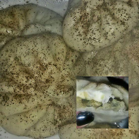 Georgian Food Xinkali Delicious