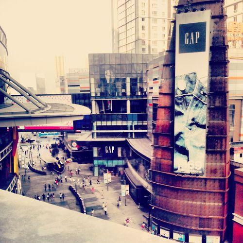 City Pedestrian Walk Commercial