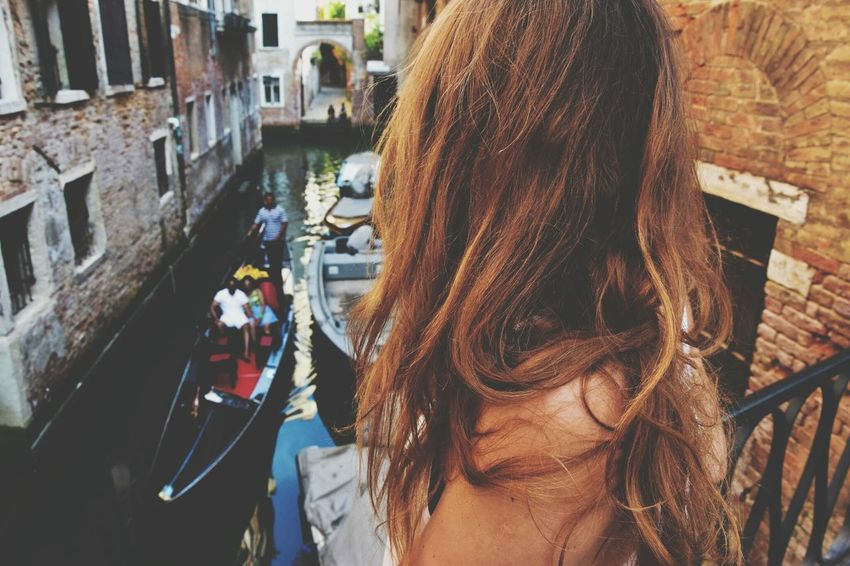 Real People Architecture Women Rear View City Building Exterior Day One Person Close-up Lifestyles People Outdoors Adults Only Multi Colored Adult Long Goodbye