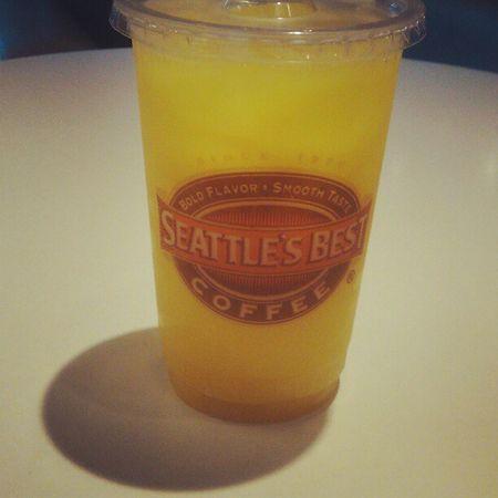 Mango Juice from @seattlesbestcoffee Seattlesbestcoffee SBC drink