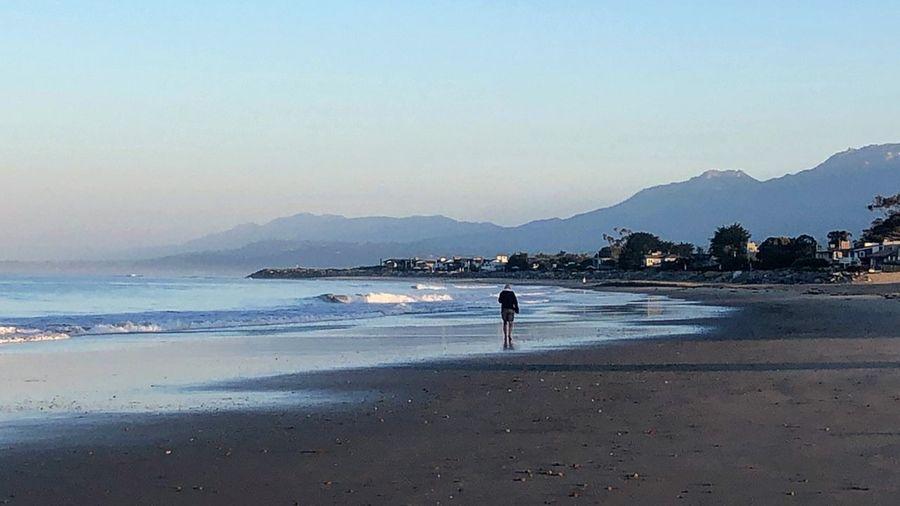 Morning Life Is A Beach Beachphotography Beach Land Water Sea Sky Mountain Scenics - Nature Mountain Range Beauty In Nature
