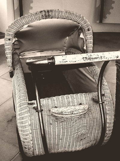 Stroller Old Stroller Blackandwhite Black And White Photography Close-up