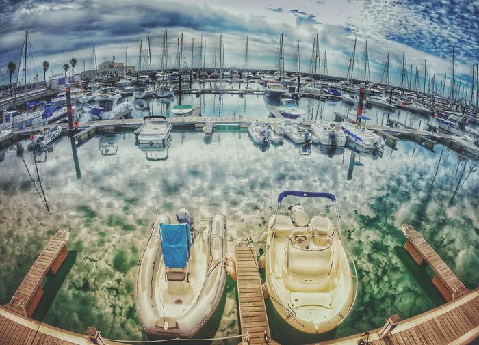 Water Outdoors Day No People Sky HDR Collection HDR Hdr Photography Portugal Cascais Marina Cascais Boats And Water Harbor View Harbor Water And Sky Reflexions Water Tranquil Scene Moody Sky Nautical Theme Nautical Vessels Nautical Scene Daylight Boats Boats On Harbor Boats On Water Paint The Town Yellow The Week On EyeEm