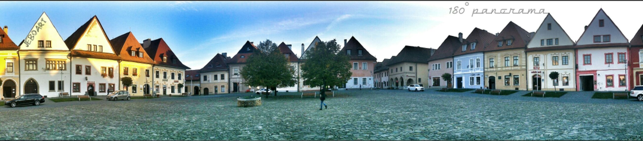 Architecture Trees Historical Building Travel Square Panorama Photography My Town Old Town Old Buildings 180° Bardejov Squaready