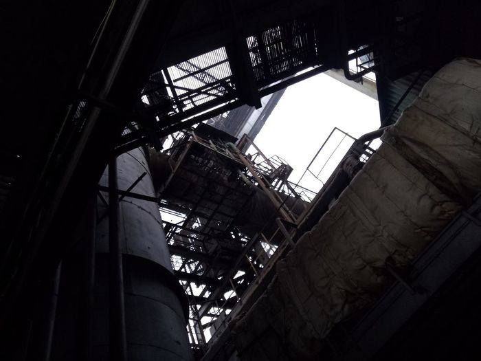 Nofilter No Filter Photography Iron Industrial Day Gray Color Factory Factory Building Factory Photo Metal Industry City Foundry Golf Club Industry Spiral Staircase Factory Architecture Built Structure Sky Iron - Metal Skylight