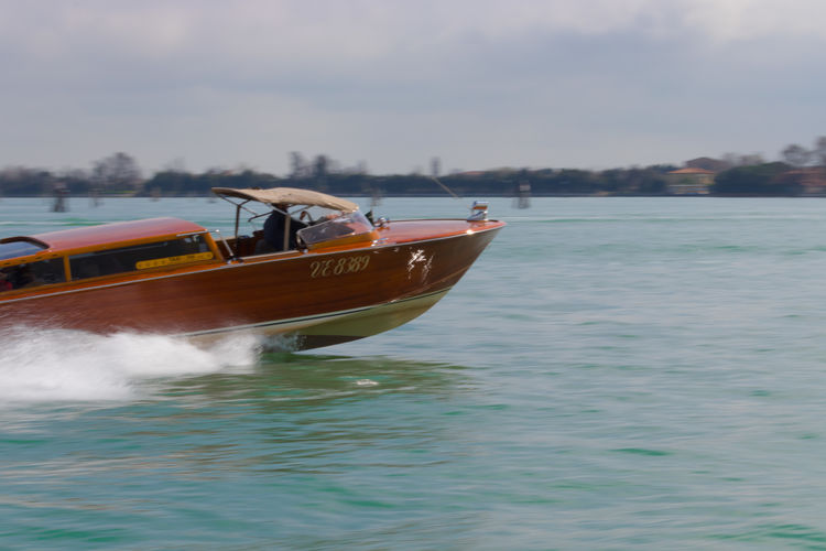 Venice taxi City Adventure Italy Italia Photographer EyeEm Best Shots EyeEm Selects EyeEm Nature Lover Eos77D MR7 Photography Colors Spring Murano Adventures In The City Water Nautical Vessel Sea Cyclone Environment Business Finance And Industry Sky Fishing Boat Boat