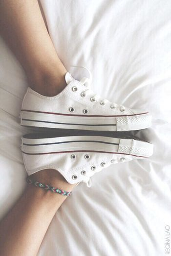 Converse All Star Chuck Taylor White ? First Eyeem Photo