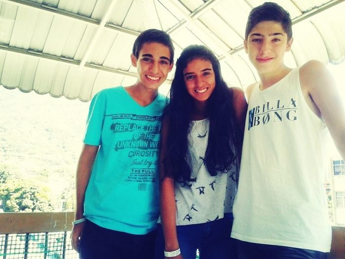 In the photo are me, Yamila and Javier. Two of my best friends Tag Your Friends