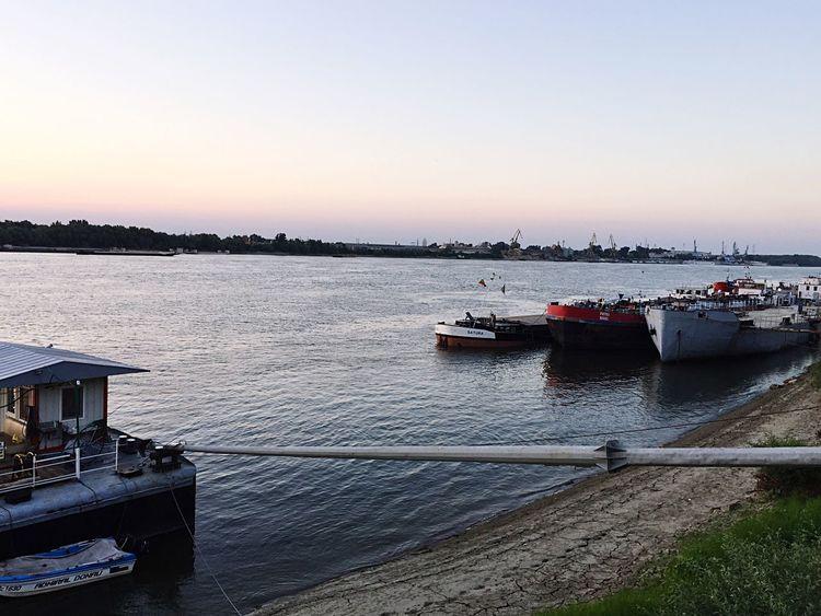 Sunset River Boat