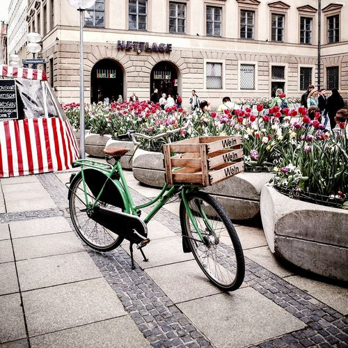 Shopping for May. Flowers Flower Bicycle Cycle Spring Spring Flowers Springtime Spring Colours