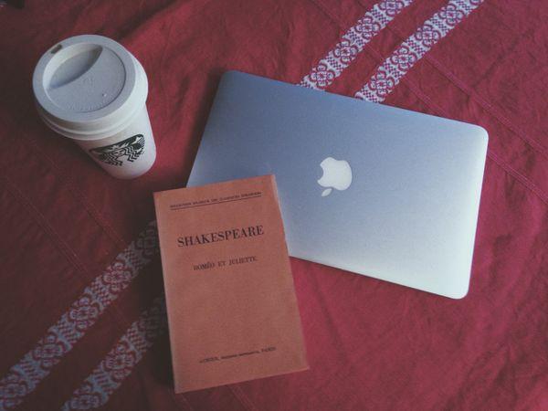 The heart wants what it wants Shakespeare Romeoandjuliet Mac Starbucks