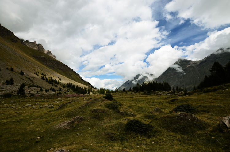 Aosta Cloud Clouds And Sky Geology Landscape Mountain Mountain Range Nature Non-urban Scene Outdoors Physical Geography Remote Scenics Sky Tranquil Scene Tranquility