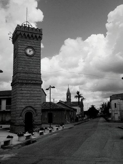 Calabria Terranova Sappo Minulio Torre Dell'orologio