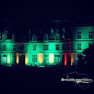 Trévarez de nuit StGoazec . @finisteretourisme @bretagnetourisme