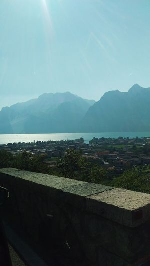 Garda lake Taking Photos Check This Out Lake View Gardasee EyeEm Best Shots On Street Mountains Clouds And Sky Landscape Takingphotos Taking Pictures Taking Photos Garda Lake Italy Gardasee,Italien Nature