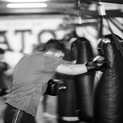 Sound Of Life Fight MuayThai MMA Fitness Body & Fitness Sculpting A Perfect Body Power Blackandwhite Gym
