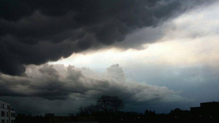 Heavy storm in