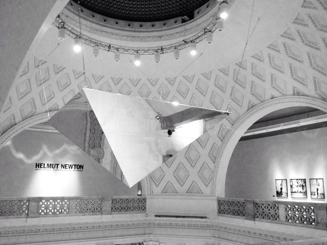 Divearchitecture Seeing Helmut Newton's Exhibition Roma Caput Mundi