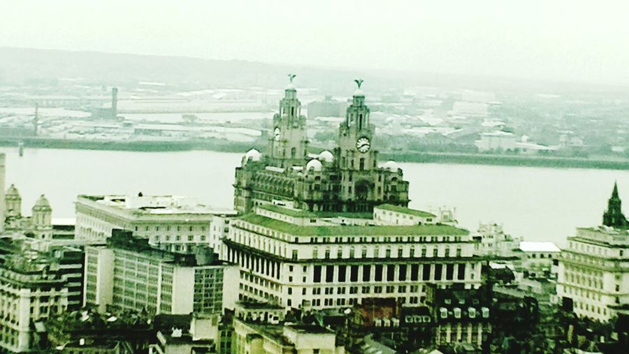 City Travel Destinations Architecture Cityscape Building Exterior High Angle View Urban Skyline No People See Things Differently Liverpoolarchitecture Liverpool Albert Docks The Mersey The Liver Buildings Built Structure