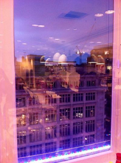 Living London Life Windows Window Reflection