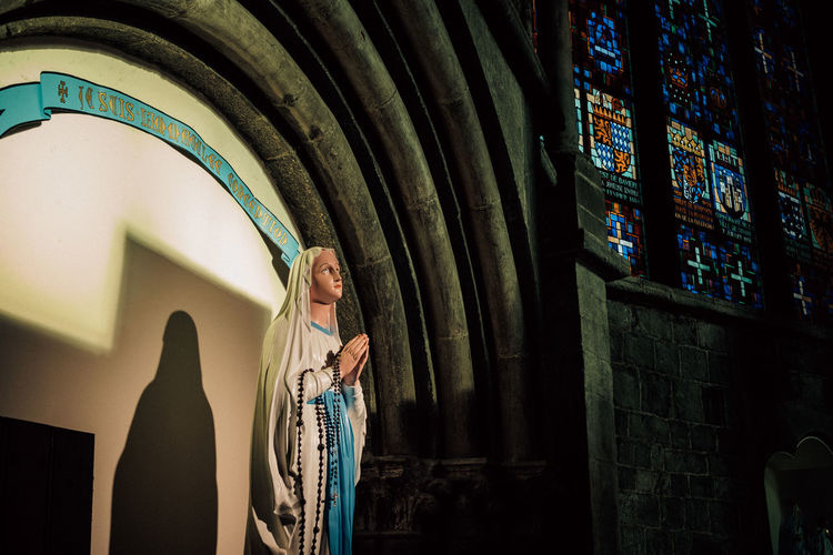 Ardennes Atmospheric Mood darkness and light Dark Eerie Beautiful Ardennen Belgium Built Structure Architecture Indoors  Building Wall - Building Feature Day Low Angle View Wall Hairstyle Reflection Religion Church Church Architecture