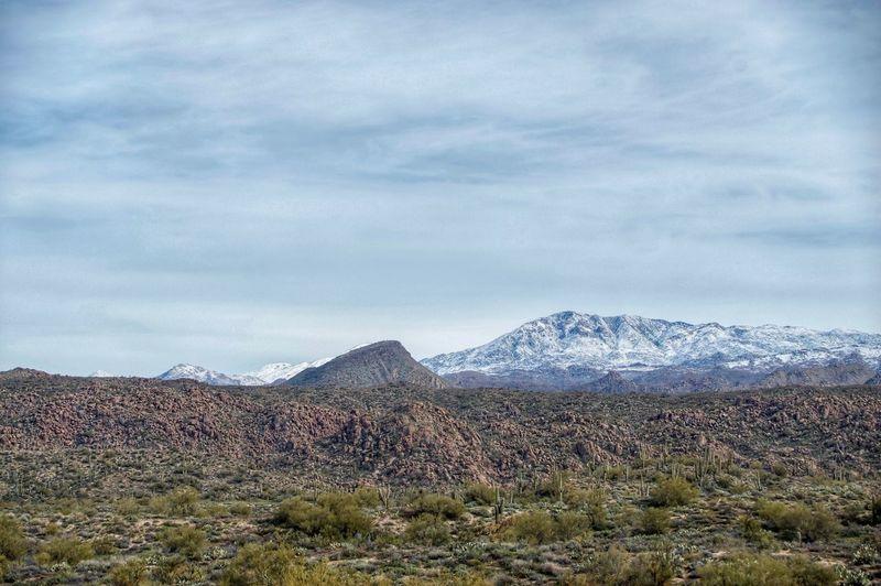 Desert snow oh