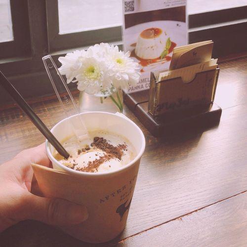 Coffee Shop My Cup Relaxing Coffeetime Coffee ☕ Photo Enjoy Time Enjoying Life Favorite