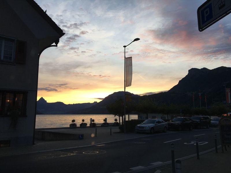 Home Sunrise Lake Mountains 🇨🇭 Switzerland Photoker