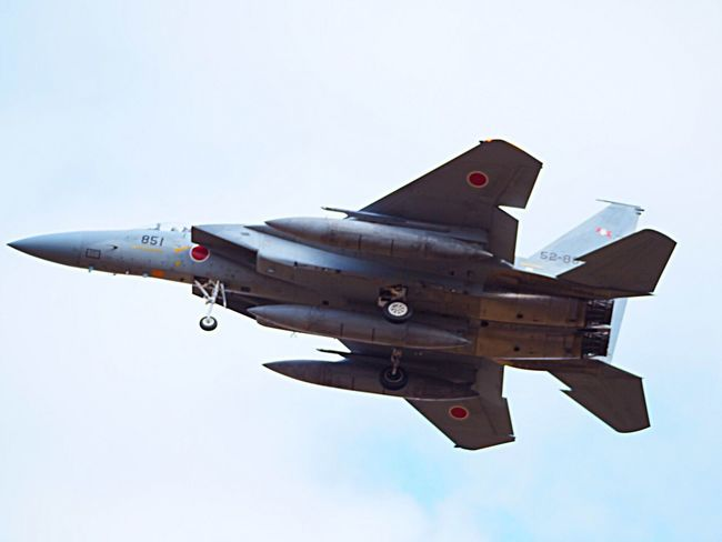 Aircraft Airplane Fighter Jet F-15 Japan
